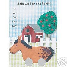 Happy Birthday Little One Party Invitations 8ct.