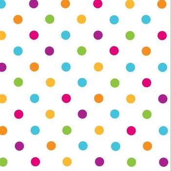 Happy Dots 3-Ply Lunch Napkins, 16 count