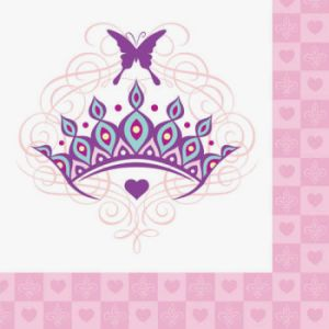 Her Highness Princess Happy Birthday Beverage Napkins 16ct.