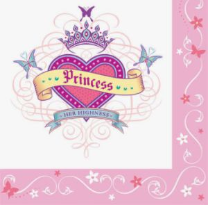 Her Highness Princess Happy Birthday Lunch Napkins 16ct.