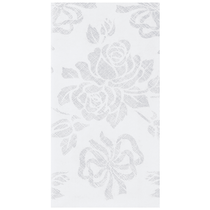 "Hoffmaster Linen-Like® Silver Prestige 12"" x 17"" Guest Towels, 125ct."