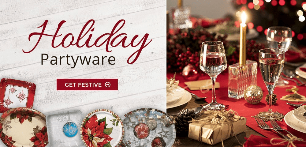 Holiday Partyware