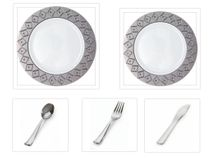 Imperial Collection: White and Silver - Party Packages