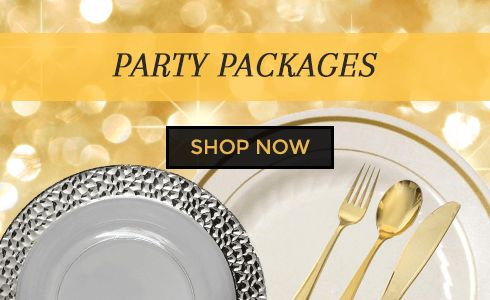 Discount Elegant Party Supplies Disposable Party Supplies A Party Source