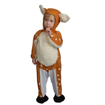 Infant Fawn Jumpsuit Halloween Costume, Size 0-12 months