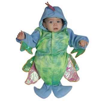 Infant Irridescent Bunting Halloween Costume, Size 0-12 months