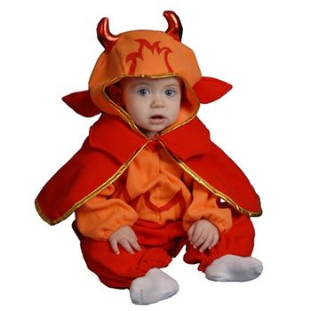 Infant Little Devil Bunting Halloween Costume, Size 0-12 months