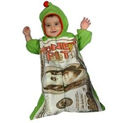 Infant Money Pit Bunting Halloween Costume, Size 0-12 months