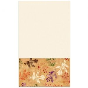 Leaves Thanksgiving Fall Guest Towels 14ct.