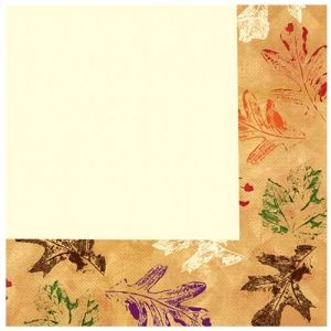Leaves Thanksgiving / Fall Lunch Napkins 36ct.