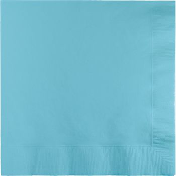 Light Blue Luncheon Paper Napkins 20ct.