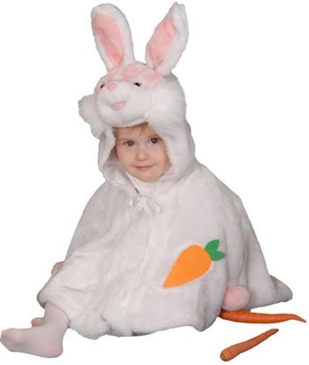 Little Bunny Plush Baby/Infant Halloween Costume, 12-24 months