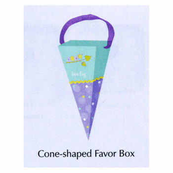 Love Bug Cone Shaped Treat Boxes 6ct.