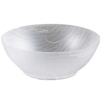 Mahogany Collection 12oz. Clear Wood-Like Plastic Soup Bowls, 10 count