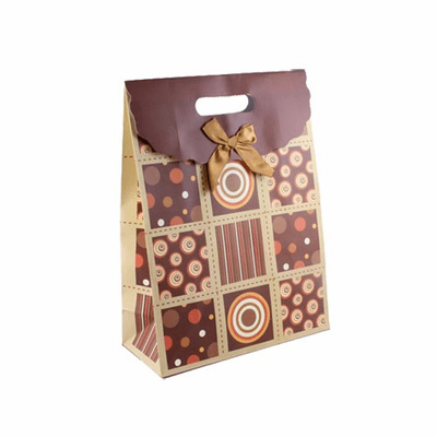 Medium Geometric Everyday Printed Gift Bag