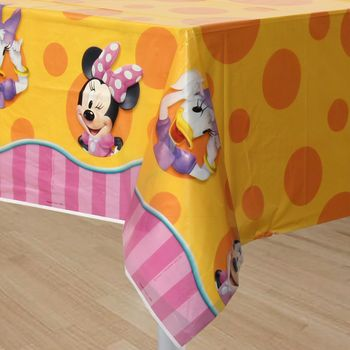 Disney Minnie Mouse Dream Party Birthday Plastic Table Cover, 1ct.
