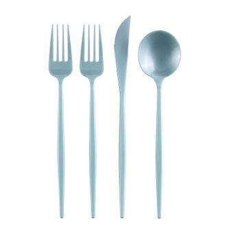 Mint Plastic Cutlery Spoons, 20ct.