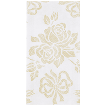 "Hoffmaster Linen-Like® Gold Prestige 12"" x 17"" Guest Towels, 125ct."