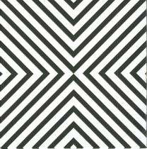 Chevron Cocktail Napkins, Black 20-Pack