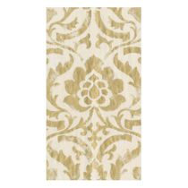 Baroque Paper Guest Towel Napkins in Ivory - 15 Napkins Per Package