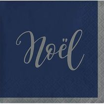 "Silent Night Beverage Napkins, 5"", Multi-color"