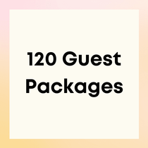 Party Packages for 120 Guests