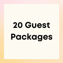 Party Packages for 20 Guests