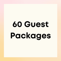 Party Packages for 60 Guests
