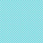 Pastel Blue Dot Print Beverage Napkins 24ct.