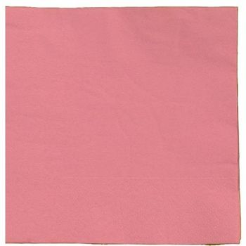 Pink Beverage Paper Napkins, 20ct.