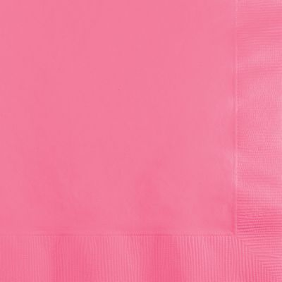Pink Lunch Napkins Paper 20ct.