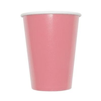 Pink Paper Party 9oz. Hot/Cold Cups, 8ct.