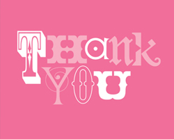 Pinkalicious Happy Birthday Party Thank You Cards 8ct.