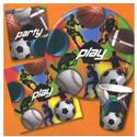 Play Sports Childrens Birthday Party Beverage Napkins