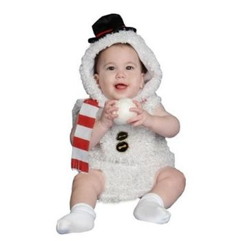 Plush Snowman Baby/Infant Halloween Costume