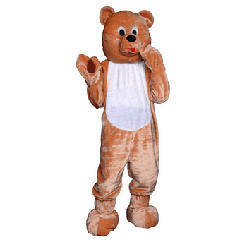 Plush Teddy Bear Mascot Costume Adult