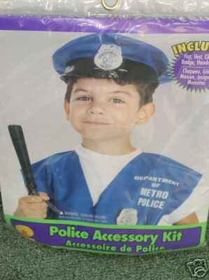 Police Costume/Kit Halloween Child