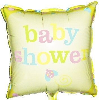 Precious Wonders Baby Shower Mylar Balloon
