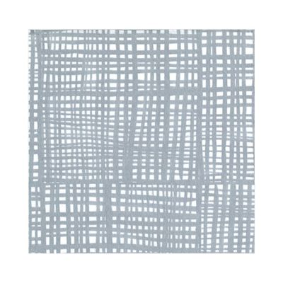 Raffine Paper Linen Luncheon Napkins in Silver - 15 Per Package