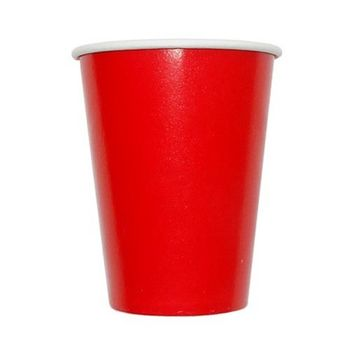 Red 9oz. Hot/Cold Paper Cups 8ct.