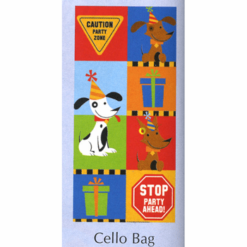 Rescue Pals Birthday Cello Bags w/ Yellow Twist Ties 20ct.