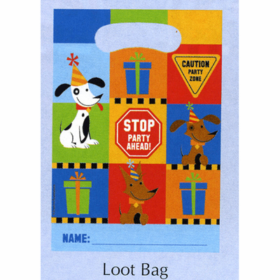 Rescue Pals Hapy Birthday Loot Bags 8ct.