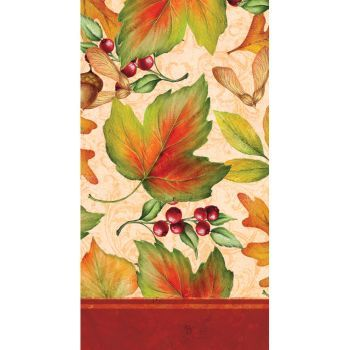 Rich Foliage Thanksgiving Guest Towels, 16ct.