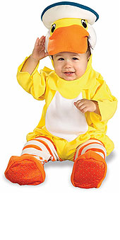 Rubber Duckie Infants Halloween Costume