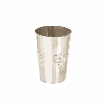 Silver Like 5.5oz. Disposable Wine Cups10pk.