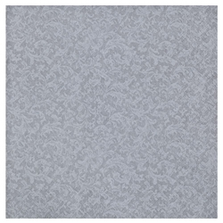 Silver Luxurious Faux Textures Beverage Napkins 40ct.