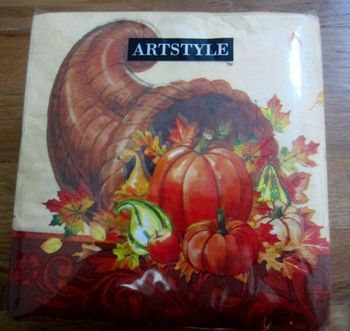 Thanksgiving Feast Lunch Napkins, 120 count