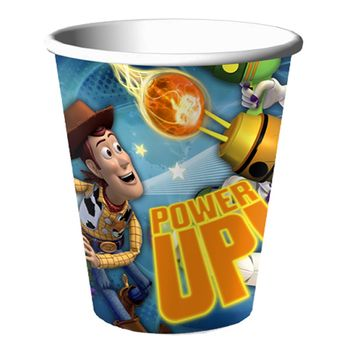 Toy Story Game Time Birthday Party 9oz. Paper Cups, 8ct.