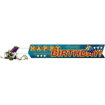 Toy Story Game Time Happy Birthday Banner, 1ct.