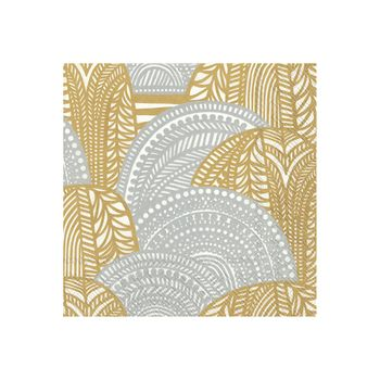 Vuorilaakso Gold and Silver Cocktail Napkins 20ct
